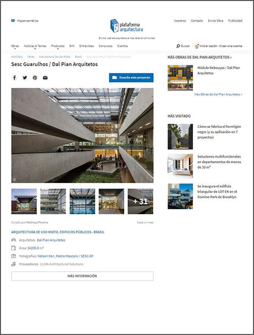 Plataforma Arquitectura – Chile